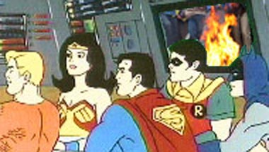 Justice League Denounces Cartoon Violence