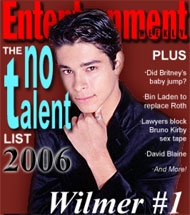 Wilmer Tops EW 2006 'No-Talent' List