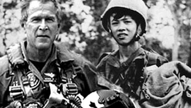Bush Completes Air National Guard Duty In Vietnam