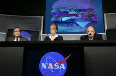 NASA Begins Countdown For Lunch