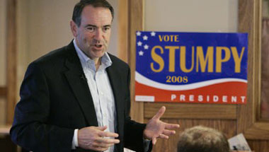 Huckabee Vows To Ditch Last Name If Elected