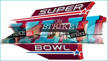 Writers' Strike Threatens Superbowl