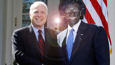 McCain Touts Endorsement By Little Black Sambo