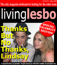 Lesbians To Lindsay: Thanks, But No Thanks
