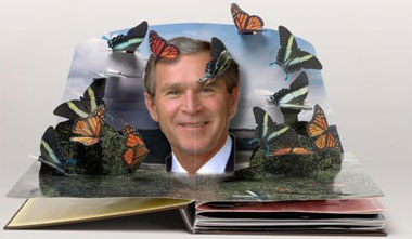 Bush To Publish Memoir As Pop-Up Book