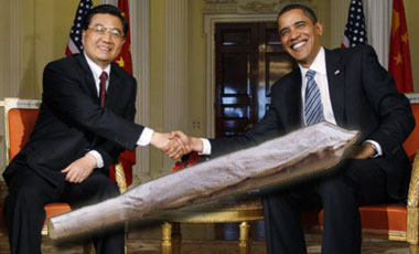 Obama To Share Spliff With China