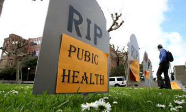 Mass. To Eliminate Dept Of Pubic Health