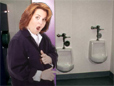 Rosie Sues Over Women's Restroom Symbol