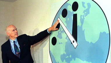 Doomsday Clock Mistakenly Moved Hour Ahead For DST