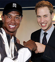 Tiger Woods To Head Prince William's Bachelor Party