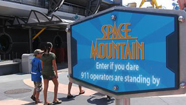 Family Calls 911 From Inside Space Mountain Ride