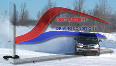 Scientists Discover Snow Turns Drivers Into Idiots
