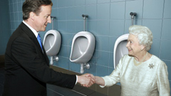 David Cameron Bathroom Etiquette