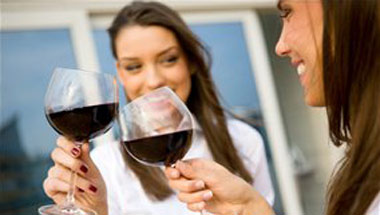 Glass Of Red Wine Helps Women Ward Off Asshats