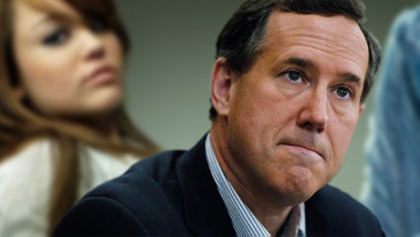Santorum: God Is Using Miley Cyrus To Test Me