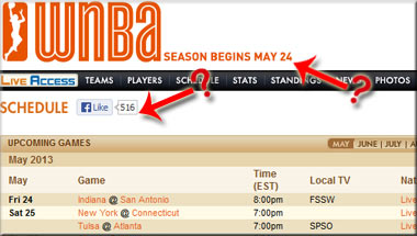 2013 WNBA Season Apparently About To Begin