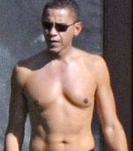 Obama Heavily Favored To Win Swimsuit Competition