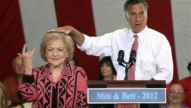 Romney Chooses Betty White As Running Mate