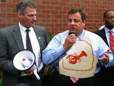 Chris Christie Praises Sen. Scott Brown, Eats Him