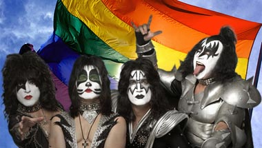 Kiss Celebrates 40 Years Of Noone Knowing They're Gay