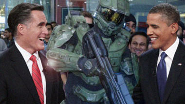Obama, Romney Play Halo 4 Into Wee Hours Of Morning