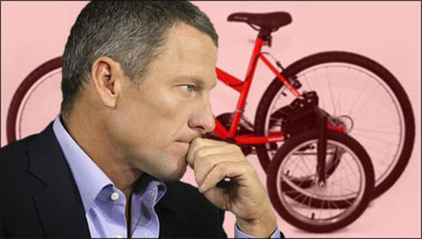 Lance Armstrong Admits To Using Training Wheels