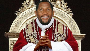 Ray Lewis Named New Pope