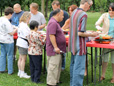 VA Summer Outing Serves Up Burgers, Apologies