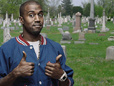 Kanye West Performs In Cemetery, Demands Dead Rise